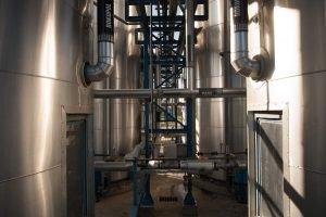 impianto di produzione di soda caustica